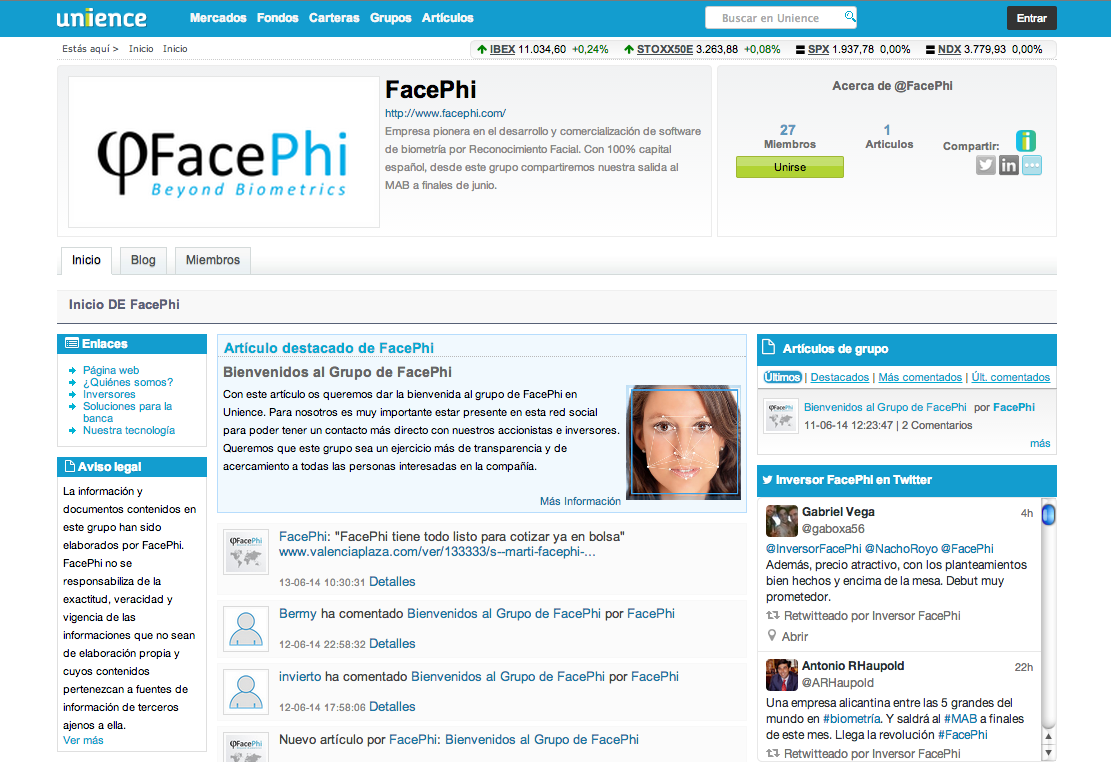 FacePhi Unience