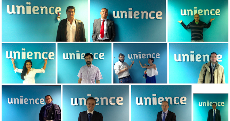 Photocall unience 2