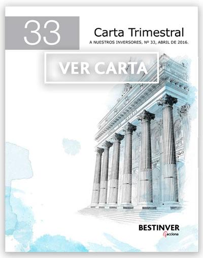 Carta Trimestral 33
