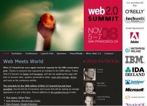 La web del evento