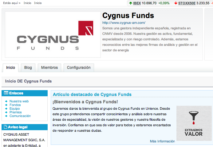 Cygnus Funds