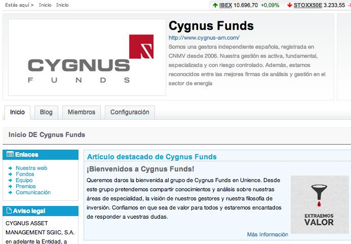 Cygnus Funds