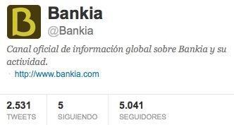 Twitter Bankia