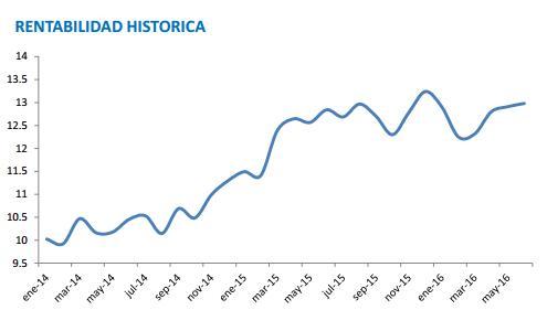 True Value Rentabilidad Histórica