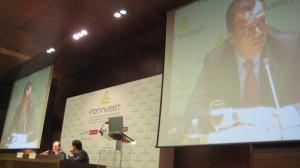 La conferencia del presidencia de Ascri en Forinvest