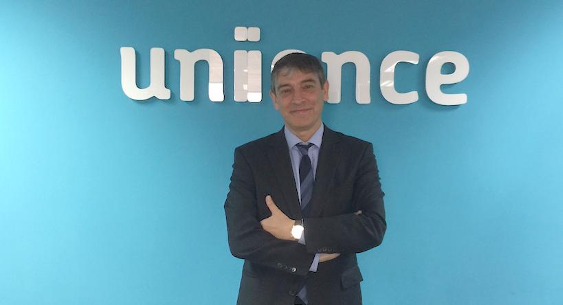 Carlos Buesa, CEO de Oryzon, en las oficinas de Unience