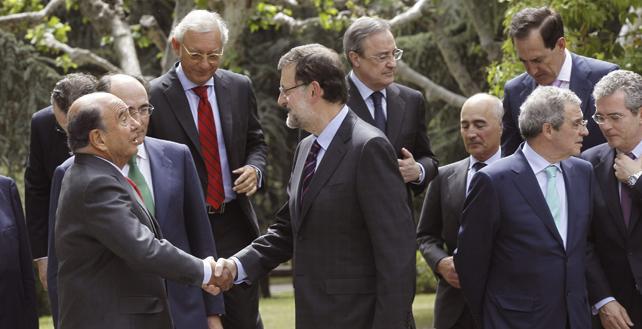 Jefes del Ibex apoyan a Rajoy