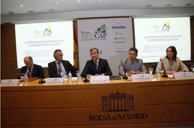 Mesa redonda Medcap sobre Internacionalización
