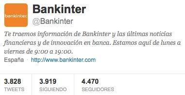 Twitter Bankinter