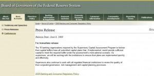 La Fed anunció ayer que los bancos a los que les pidió fortalecer el balance han presentado planes satisfactorios