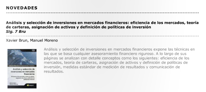 Xavier Brun análisis inversiones