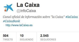 Twitter CaixaBank