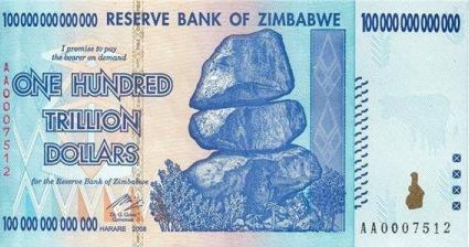 Dólar zimbabwe