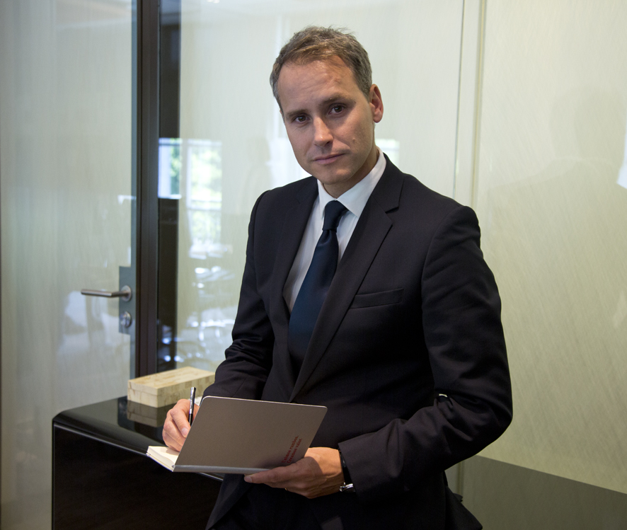 Álex Fusté, economista jefe de Andbank