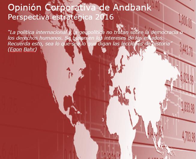 Andbank opinión sobre mercados diciembre 2016