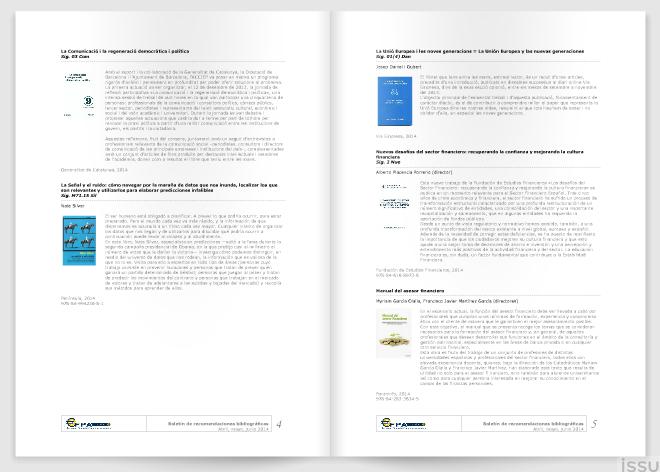 Libros recomendados EFPA