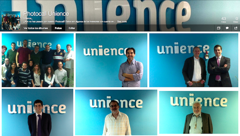 Photocall Unience