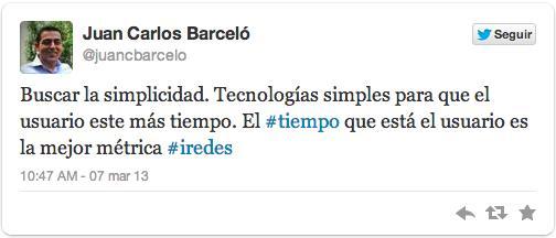 iRedes Burgos Twitter Simplicidad
