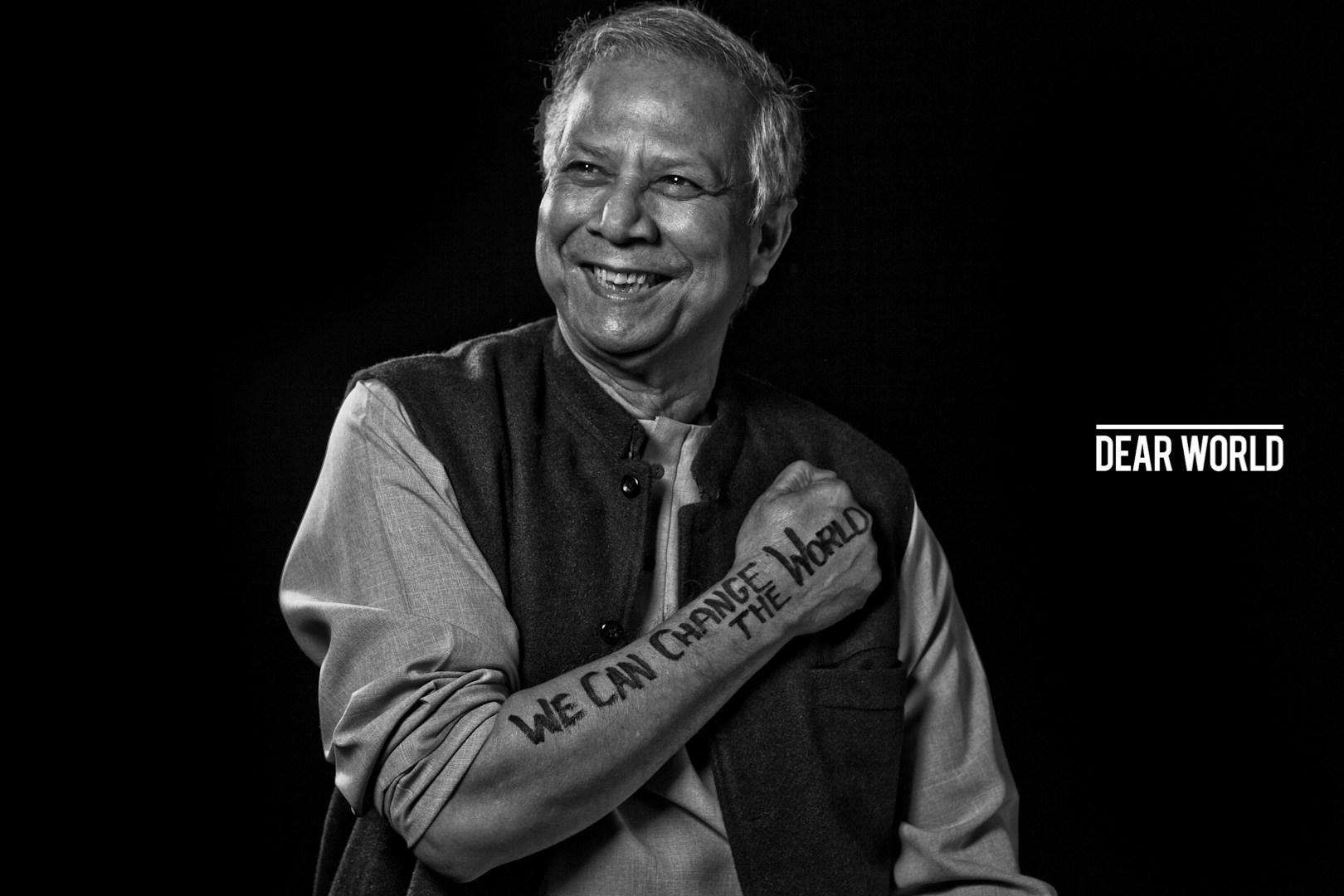 Muhammad Yunus y los microcréditos